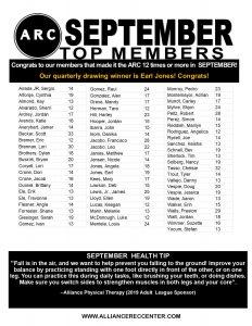 september top members