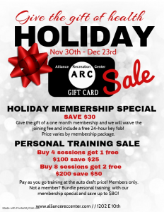 holiday sale arc gift cards
